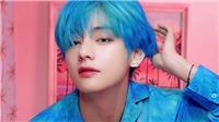 Những thần tượng 'thử sức' với màu tóc xanh ma mị: V BTS, IU, Twice,...