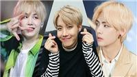 20 hình ảnh kinh điển khi BTS để tóc vàng