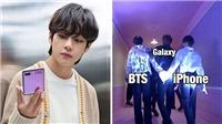 BTS bất ngờ vướng 'tình tay ba' hài hước với... Samsung và iPhone