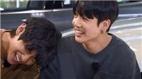 V và Jungkook BTS lại khiến fan thổn thức với hành động cực tình cảm