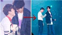 Phản ứng của Jungkook BTS khi bị Jimin cho 'ăn đòn' trước mặt hàng triệu ARMY