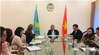 Đại sứ quán Kazakhstan mong muốn tăng cường hợp tác với Việt Nam, công chiếu phim sử thi hoành tráng