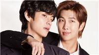 V BTS sắp chiếm được danh hiệu 'Người khổng lồ' của RM?