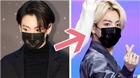 Jungkook BTS gây choáng khi tái xuất với màu tóc vàng chóe