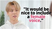 Jimin BTS trả lời câu hỏi về giọng nữ trong 'Life Goes On'