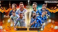 Cập nhật kết quả bóng đá chung kết cúp C2: Sevilla 3-2 Inter Milan