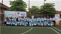 Man City hỗ trợ đào tạo 'Nhà lãnh đạo trẻ' cho làng trẻ SOS Việt Nam