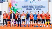 Duân Dị vô địch giải bóng chuyền các CLB không chuyên Hà Nội