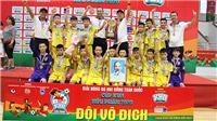 U11 SLNA lần thứ 6 vô địch BĐ Nhi đồng toàn quốc