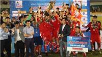 Viettel lần đầu tiên vô địch giải U21 QG