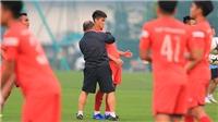 Sao trẻ Viettel bị 'nắn gân' ngày đầu tập luyện cùng U22 Việt Nam