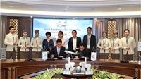 CLB Hà Nội gia hạn hợp đồng nhà tài trợ vận chuyển