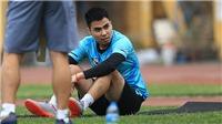 Đức Huy chấn thương, Hùng Dũng, Văn Quyết mong V League sớm trở lại