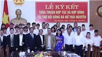 Bầu Hiển 'giải cứu' đội bóng đá nữ Thái Nguyên