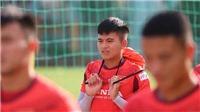 HLV Park vất vả với bài toán Đình Trọng 'mới' cho U22 Việt Nam