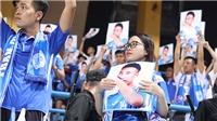 Xúc động tình cảm CĐV Quảng Ninh dành cho Hải Huy