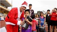 Duy Mạnh, Đức Huy, Thành Chung đón Giáng sinh với trẻ em Hà Nội