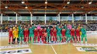 Tuyển futsal Việt Nam thua trận đầu ở Tây Ban Nha