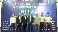 Giải BĐ hạng Nhất – Cúp VietFootball 2019 có 10 đội bóng tham dự