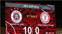 Hà Nội FC 'giúp' Naga World thiết lập kỷ lục mới