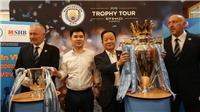 Man City đưa bộ đôi Cúp vô địch đến Hà Nội