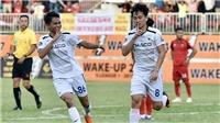 Lập hattrick, Minh Vương được HLV cả 2 đội ngợi khen