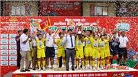 Giải BĐ Nhi đồng toàn quốc 2019: Hạ Hà Nội 4-0, SLNA lên ngôi xứng đáng
