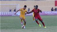HLV Thành Công cảm ơn cầu thủ khi Thanh Hóa có điểm số đầu tiên