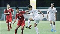 Giải BĐ nữ U15 quốc tế 2019: Việt Nam thua đậm Myanmar