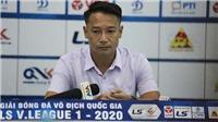 Quảng Nam FC quyết định thay tướng sau trận thua Viettel