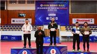 Tay vợt Lê Tiến Đạt bảo vệ thành công ngôi vô địch đơn nam chuyên nghiệp