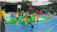 Khởi tranh VCK Giải bóng rổ học sinh Tiểu học Hà Nội 2019