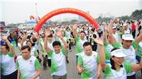 Gần 8.000 người tham dự 'Ngày chạy Olympic - Vì sức khỏe toàn dân'