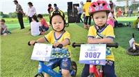 Hơn 500 bé tham dự Cua-rơ Nhí xuyên Việt 2018