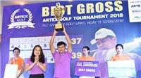 Artex Golf Tournament 2018: Golfer Đường Ngọc Dương vô địch với 76 gậy