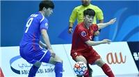 Đội tuyển futsal Việt Nam 'giật mình' vì động đất ở Đài Loan