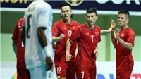 Tuyển futsal Việt Nam dội 'mưa' vào lưới Timor Leste