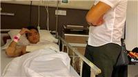Không có bảo hiểm, SLNA lo toàn bộ chi phí điều trị cho Nguyên Mạnh