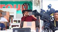 Ngay sau scandal, PCT VFF Nguyễn Xuân Gụ xuất hiện trên sân Pleiku
