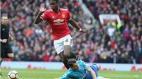 Sao Arsenal bị mắng chơi bóng như 'trẻ con' vì đứng nhìn Pogba ghi bàn