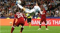 Video clip bàn thắng Real Madrid 2-1 Roma: Gareth Bale lại rực sáng