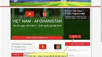 Cách mua vé bóng đá online trận bán kết Việt Nam vs Philippines