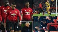 Video M.U 0-0 Crystal Palace: Cái lắc đầu ngán ngẩm của Mourinho