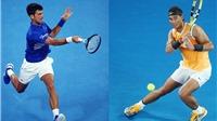 Xem trực tiếp giải tennis Úc mở rộng (Australian Open 2018) Nadal vs Djokovic ở đâu?