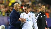 Real Madrid: Người đại diện nói điều bất ngờ về mối quan hệ của Bale với Zidane