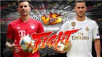 Trực tiếp Real Madrid vs Bayern Munich (07h00, 21/7). Trực tiếp FPT Play