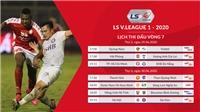 Lịch thi đấu V-League 2020 vòng 8: Viettel vs Hà Nội. TPHCM vs Bình Dương