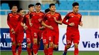 Tin tức bóng đá U23 Việt Nam vs Jordan hôm nay: Đình Trọng sẽ đá chính?