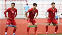 CẬP NHẬT bóng đá SEA Games Việt Nam vs Brunei: Quang Hải và Văn Hậu, Tiến Linh đồng loạt dự bị