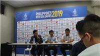 Phòng họp báo của SEA Games 2019 tại Philippines đơn sơ, giản dị thế nào?